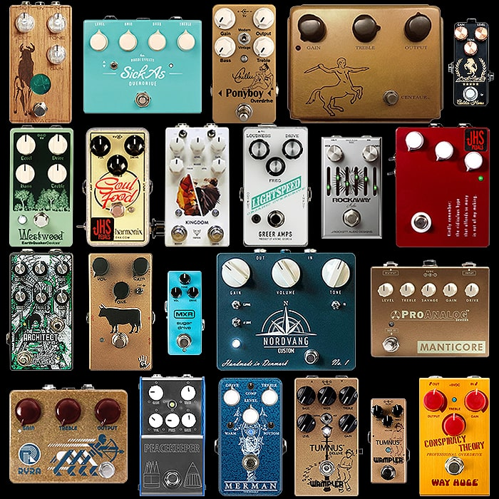 22 of the Best Klon / Klone Style Pedals - Mini, Compact, Medium and Large - 2019 Edition