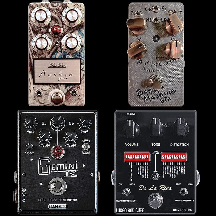 4 Fantastic Germanium and Silicon Switching Fuzz Pedals