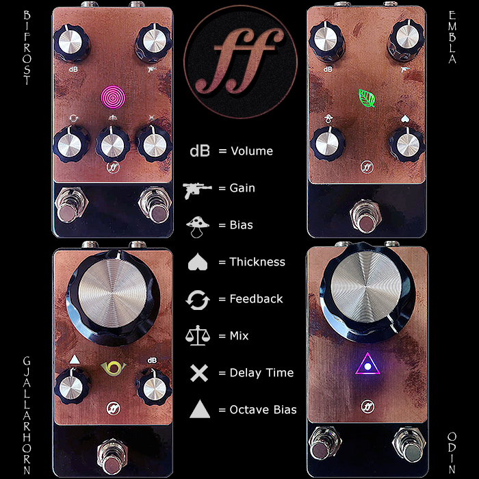 Fjord Fuzz - Daniel Thornhill's Cutting Edge Futuristic Fuzz Pedals from the West Coast of Norway