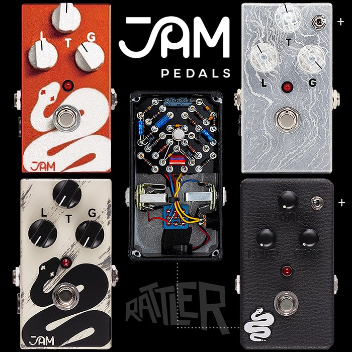 Jam Pedals Rattler - A Twisted Tale of 4 Rats!