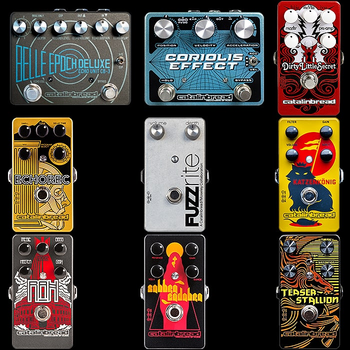 9 of the Best Catalinbread Pedals