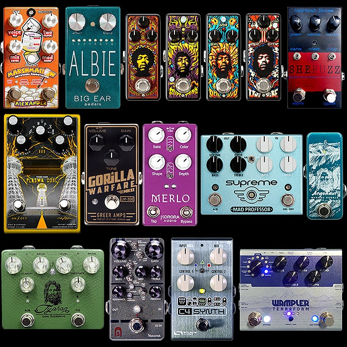 Favourite Pedals released in and around Summer NAMM 2019