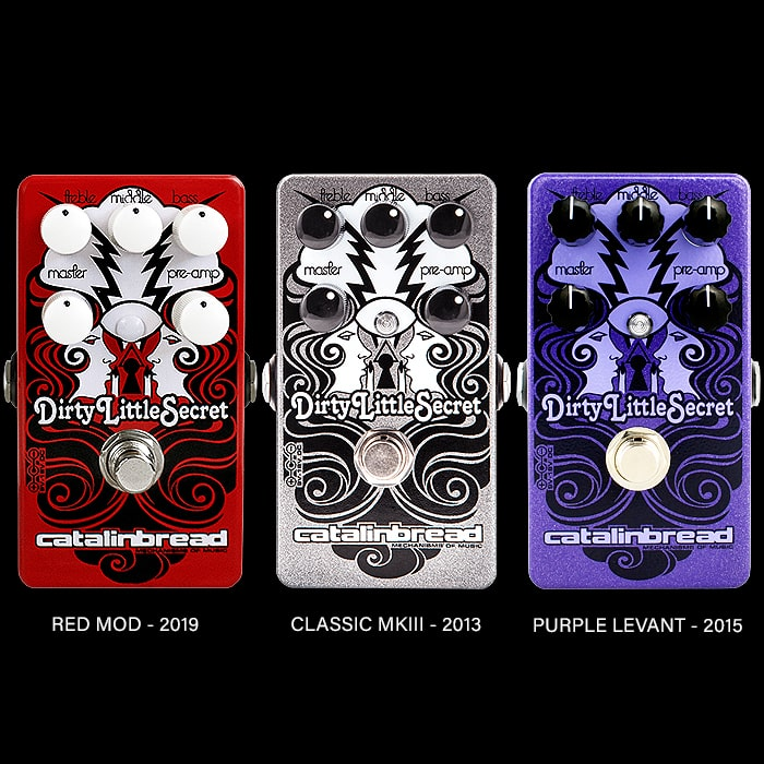 Catalinbread Releases Limited Edition Red Mod Refined Dirty Little Secret Marshall Plexi Style Drive