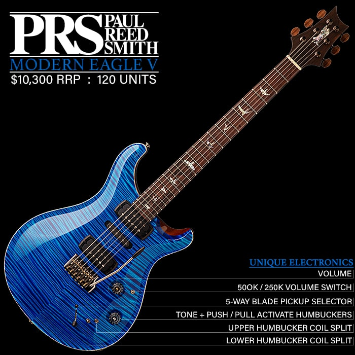 Fantastic New PRS Modern Eagle V could be the Perfect Guitar but for its Price!