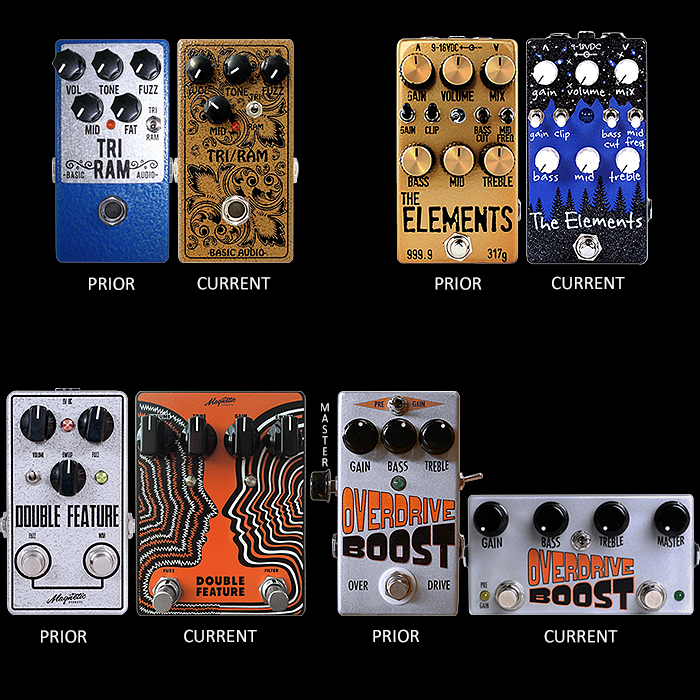 Preferred Prior Edition Effects Pedals