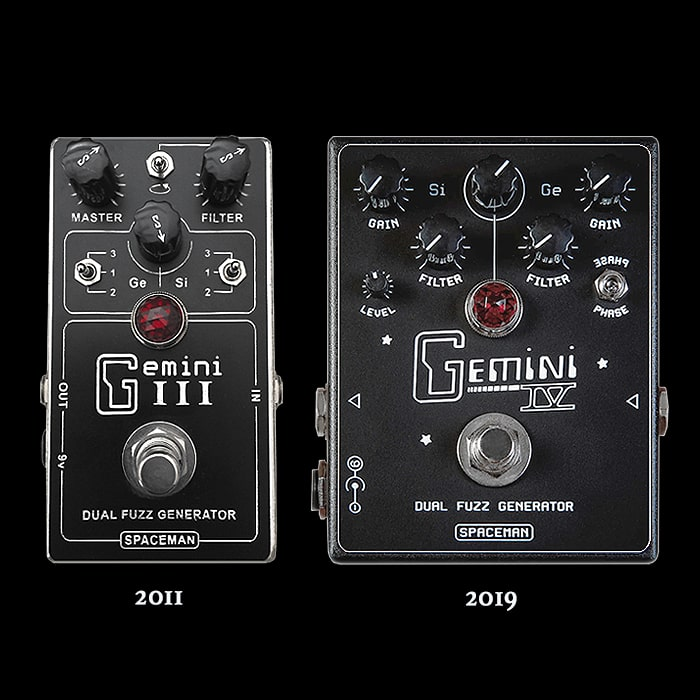 The Long Chase is Over - Spaceman Effects Finally Delivers the New and Improved and Much Desired Gemini IV Dual Fuzz Generator