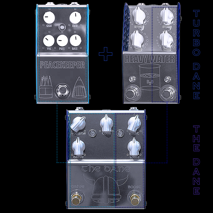 Follow My Lead and Combine ThorpyFX's New Heavy Water Dual Boost with the Peacekeeper Overdrive for a Turbo Dane Experience!