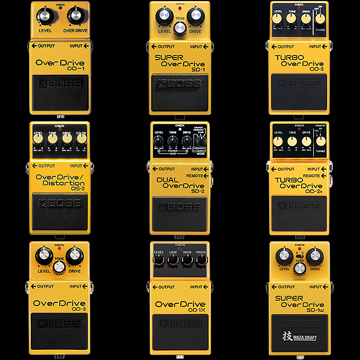 9 x Yellow Means OverDrive!