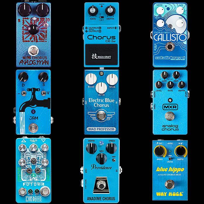 9 x Sky Blue Means Chorus!