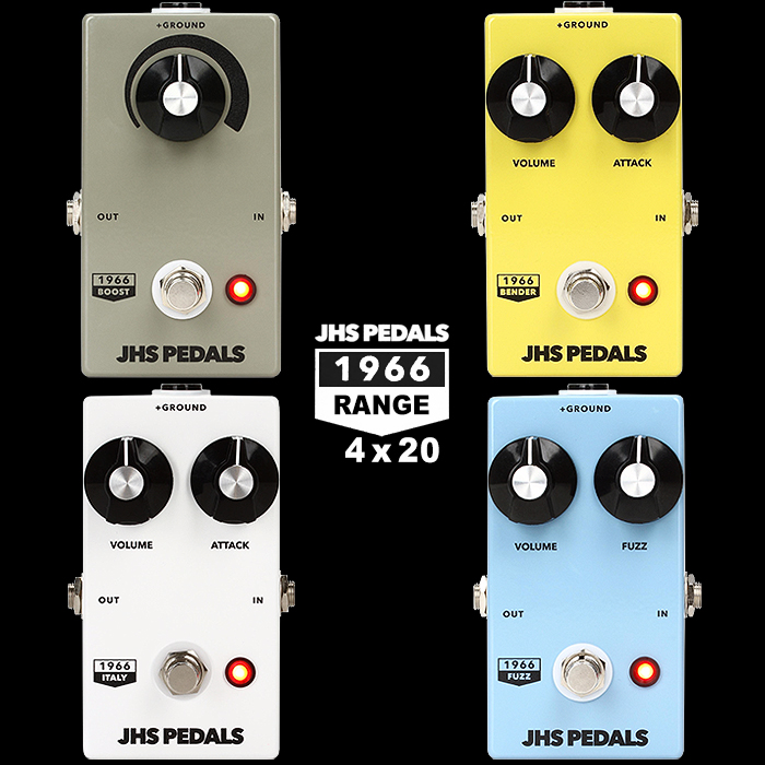 JHS Pedals Makes Curious Detour Into Pricey Collectibles Territory