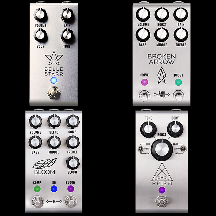 Jackson Audio's 4th Pedal - the Belle Starr Overdrive seems to be an Extraction and Extrapolation of the Amp-like MOSFET Boost Circuit from the Prism