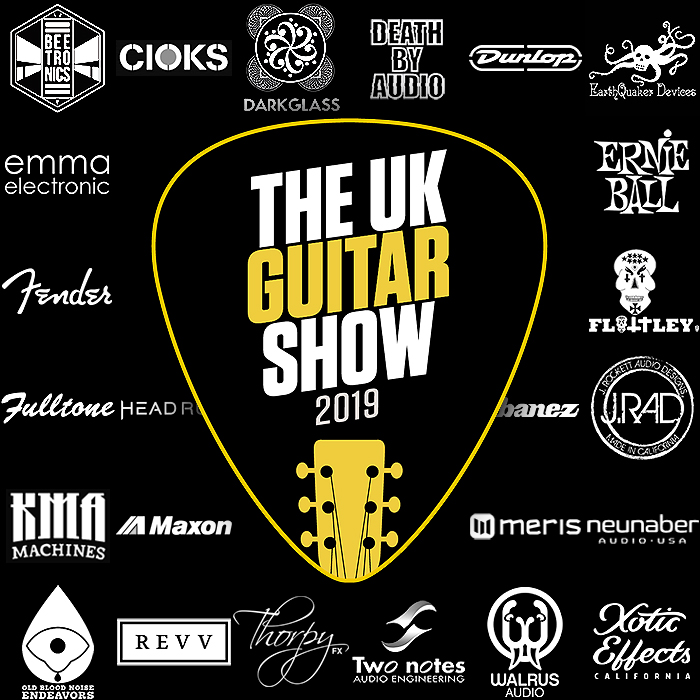 See You at the UK Guitar Show this Saturday - Islington Business Design Centre, London