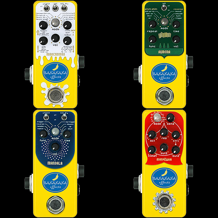 Japan's Banana Effects is helping to redefine the role and status of Mini Pedals