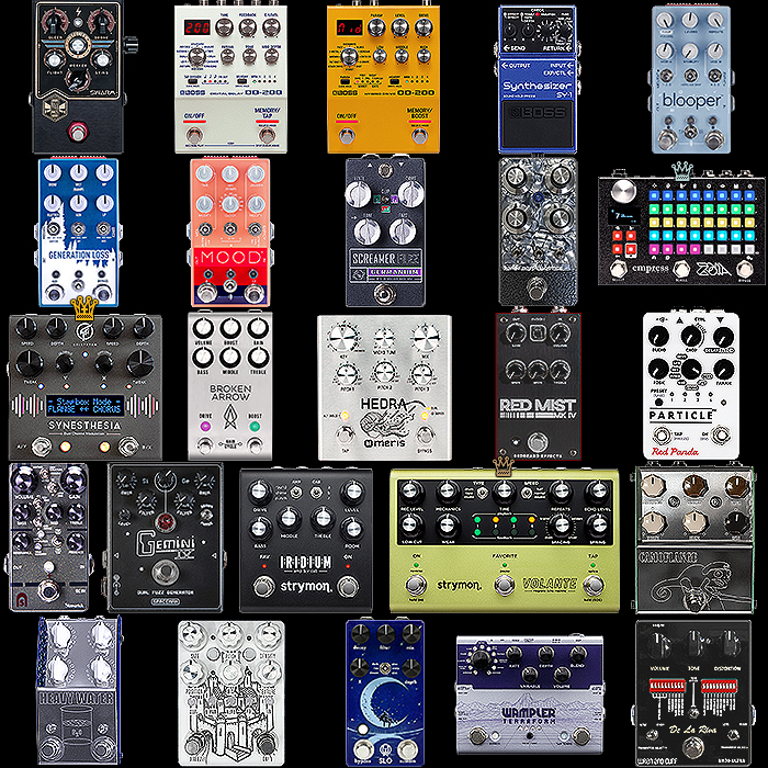2019 New Guitar Pedals of the Year