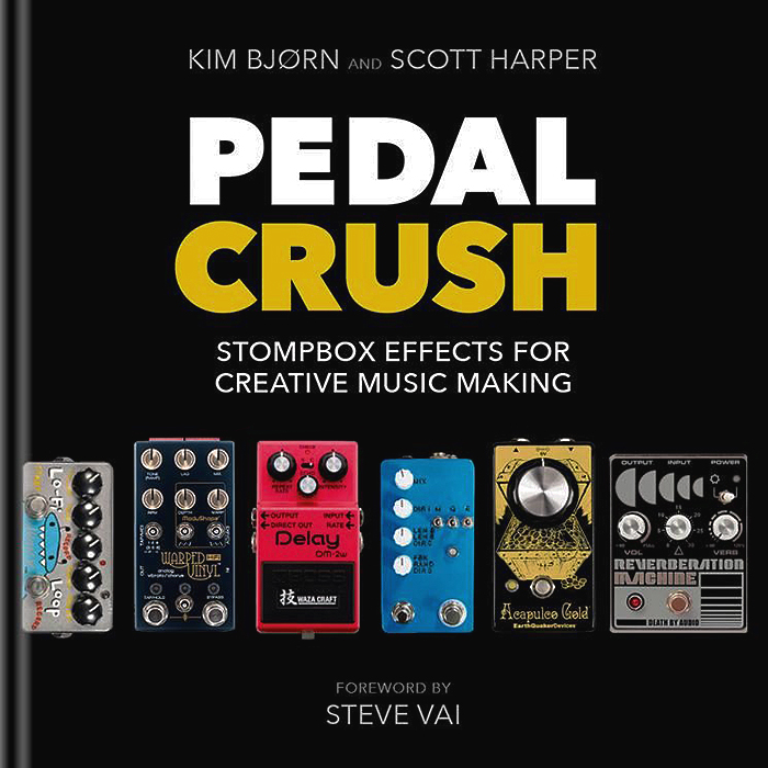 Kim Bjørn and Scott Harper's Pedal Crush is the best book on Effects Pedals to date and the perfect Stocking Filler for Christmas!