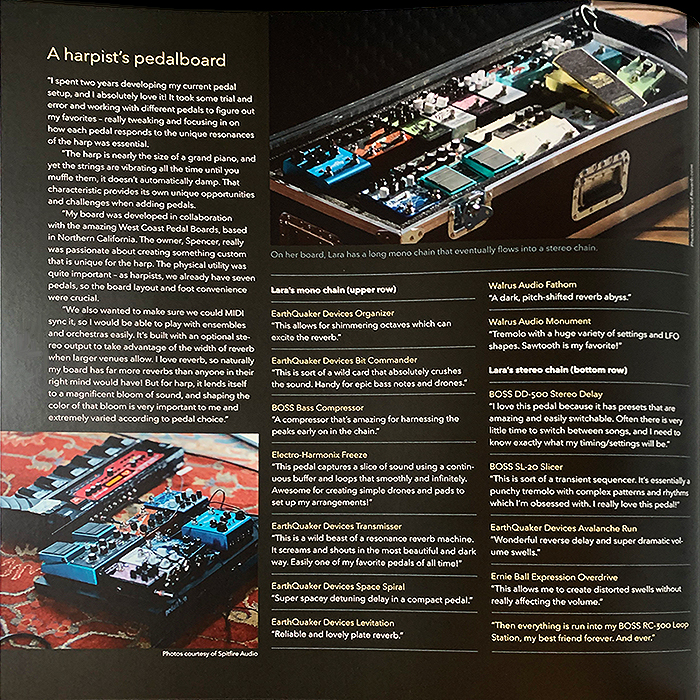 Page 54 - New Horizons for the Harp   A harpist's pedalboard - Lara Somogyi