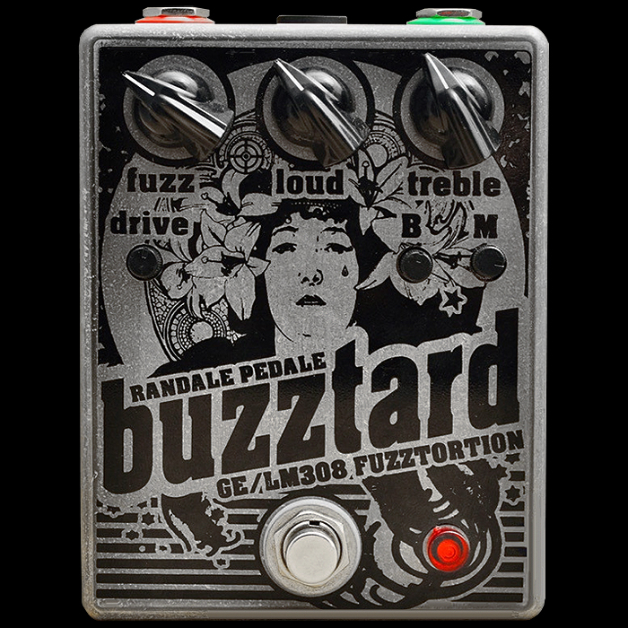 Randale Pedale Releases Ingenious Blend of Rat Fuzz and Germanium Transistor in its Buzztard Fuzzstortion