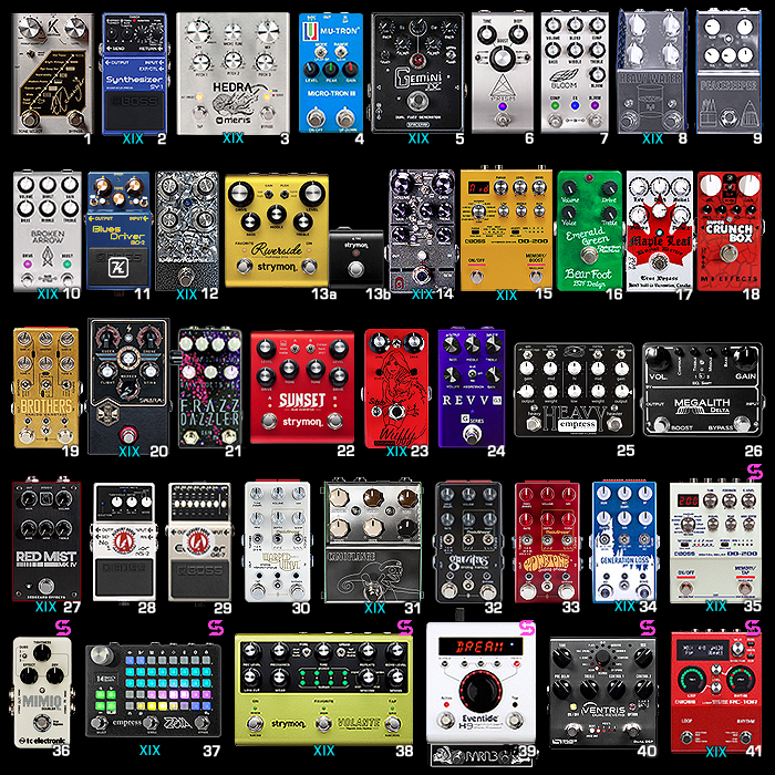 2019 Pedal-Chain Year-End Final Arrangement!