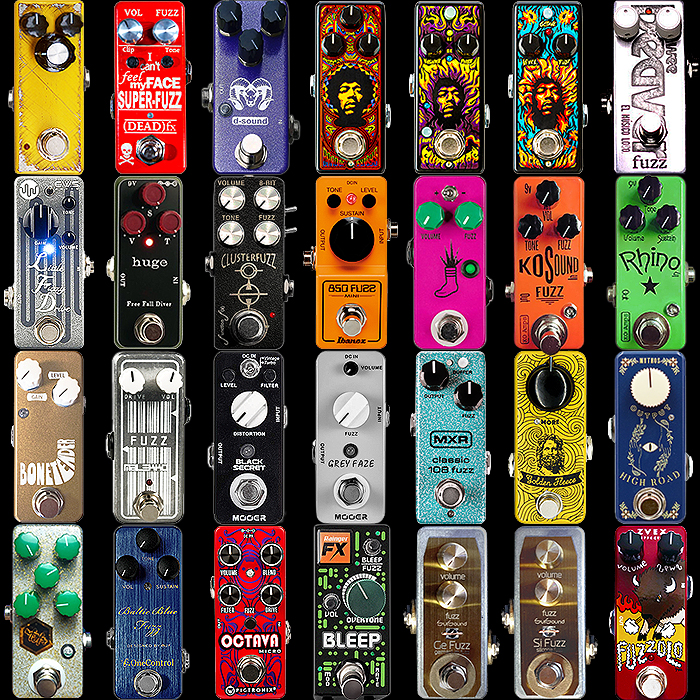 28 of the Best Mini Fuzz Pedals - 2019 Edition