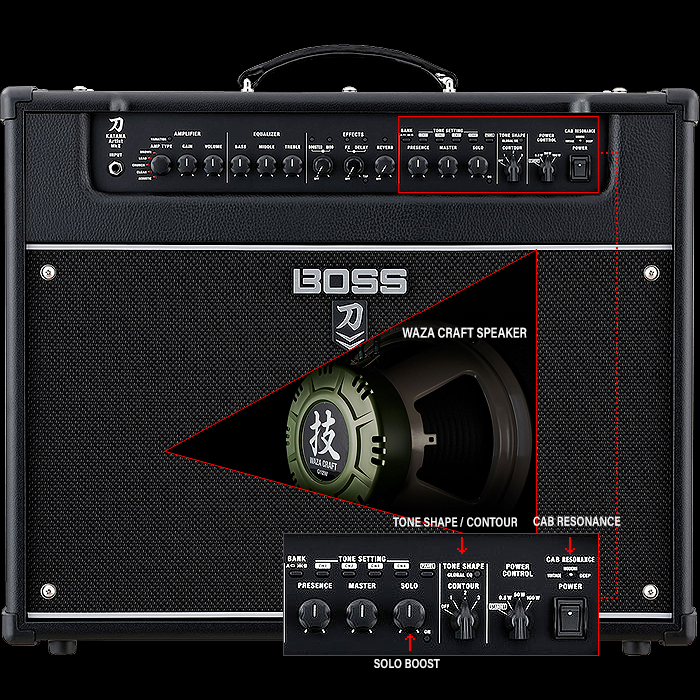 Boss Announces Katana Artist MKII just in time for NAMM