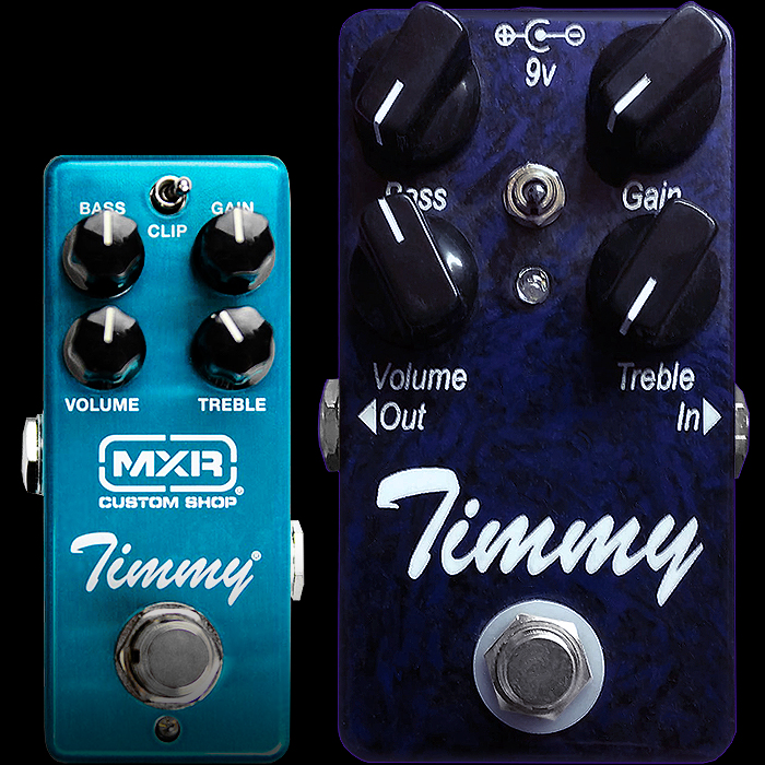 MXR Collaborates with Paul Cochrane to produce a Custom Shop Mini Edition of the celebrated Timmy Transparent Overdrive