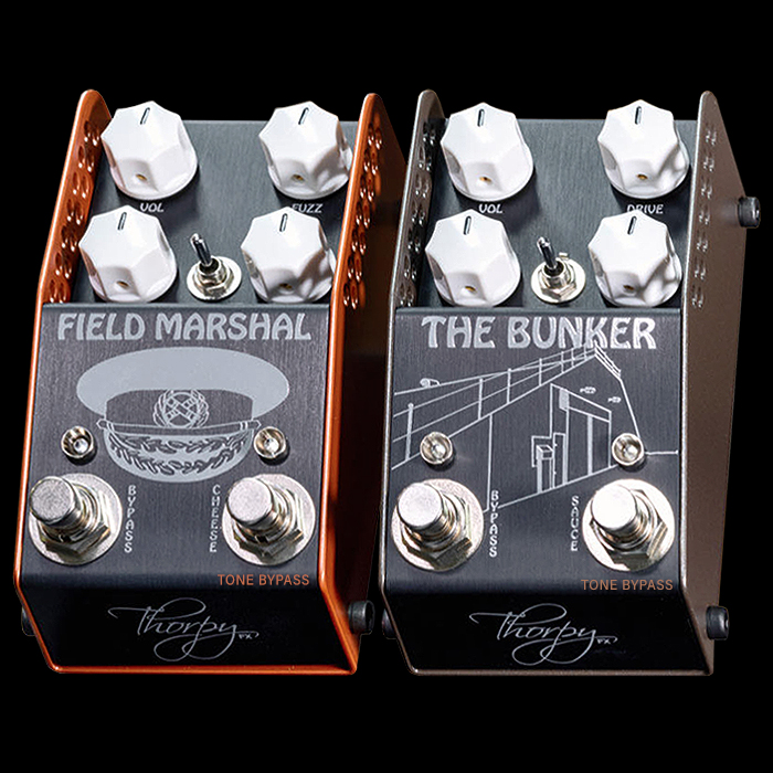 ThorpyFX Unveils two further Dan 'Lovetone' Coggins Collaborations - The Field Marshal Gated Fuzz and The Bunker Intermodulation Distortion