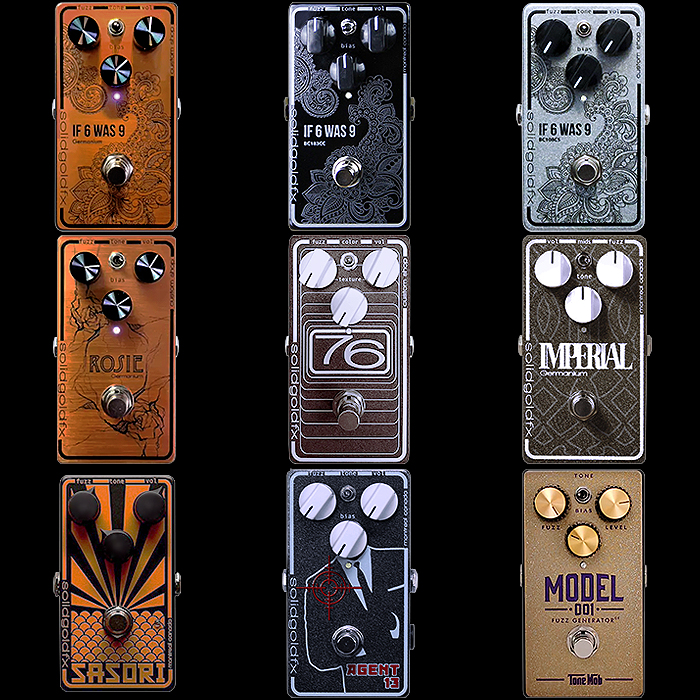 9 of the Best SolidGoldFX Compact Fuzz Pedals