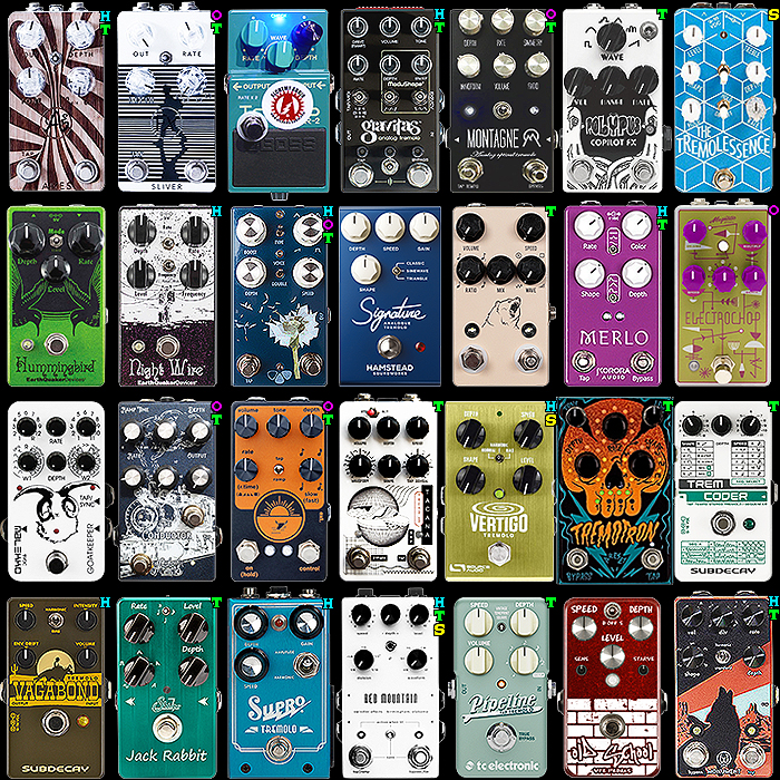 28 of the Best Compact Tremolo Pedals - 2020 Ultimate Selection