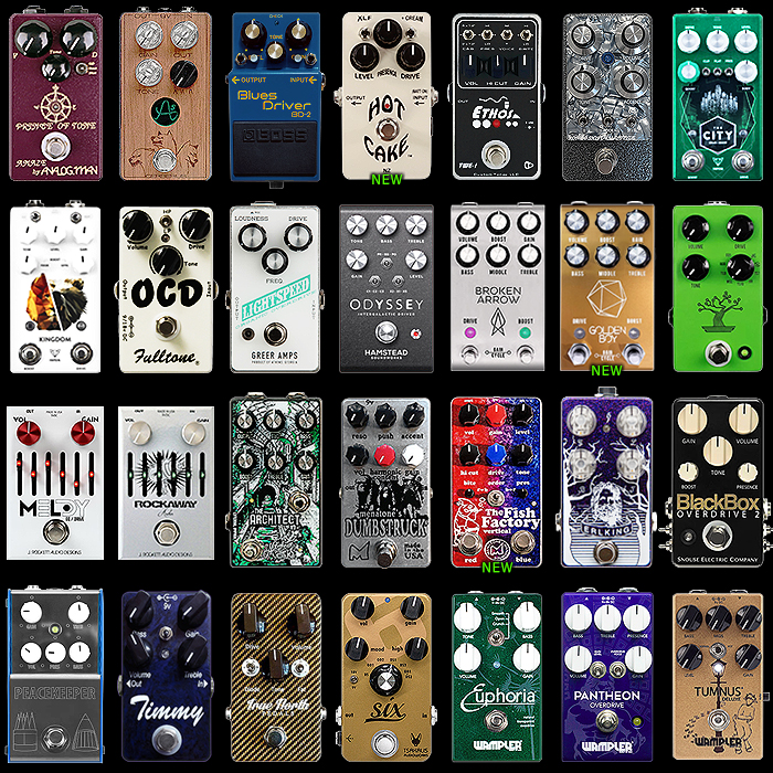 28 of the Best Compact Overdrive Pedals - 2020 Ultimate Selection