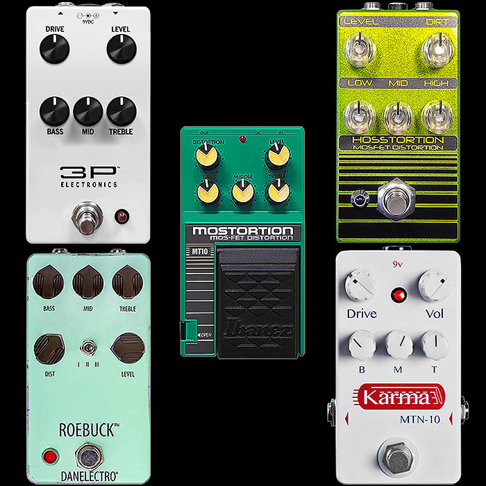 Which Mostortion Pedal is Right For You?