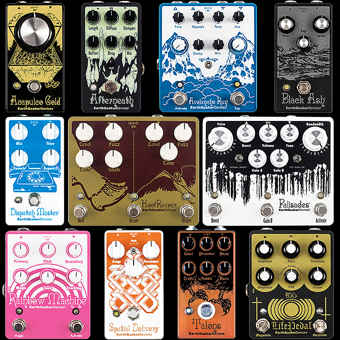 11 of the Best EarthQuaker Devices Pedals