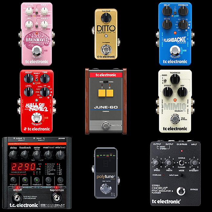 9 of the Best TC Electronic Pedals