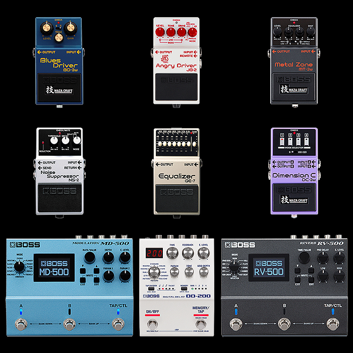 9 Essential Boss Pedals