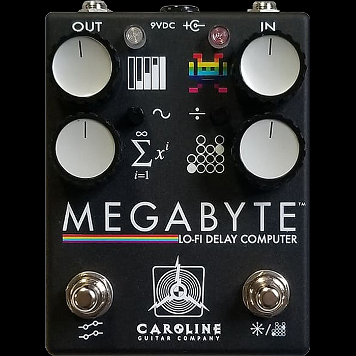 Caroline Guitar Company Teases Imminent Kilobyte Update - the Megabyte Lo-Fi Delay Computer