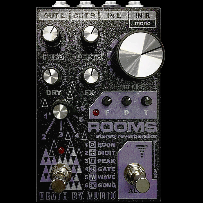 Death by Audio Unveils New Rooms Stereo Reverberator