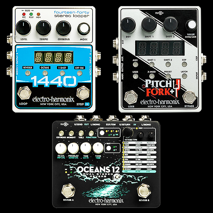 Electro-Harmonix Reveals Further Details for its NAMM-featured Pedals