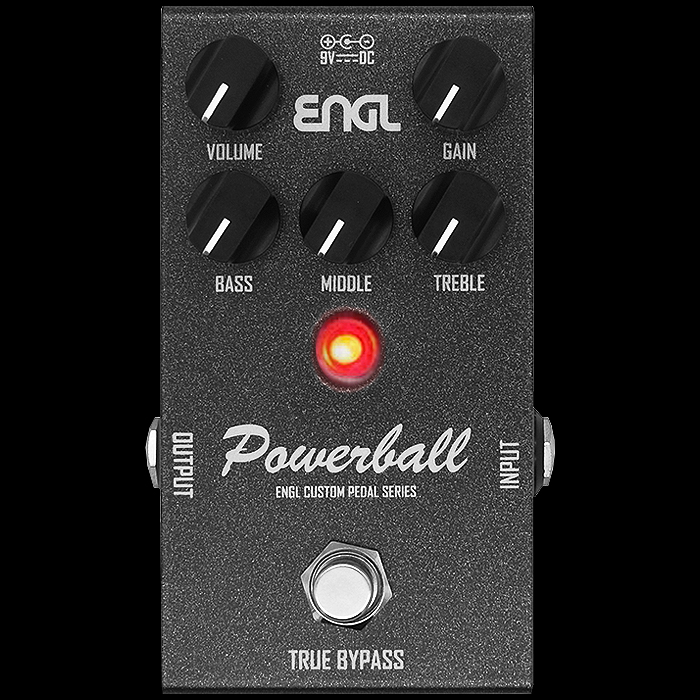Engl Delivers its Legendary Powerball Amp Lead Channel in Compact High Gain Pedal Format