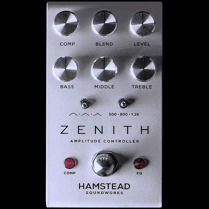 Hamstead Soundworks Finally Unveils Zenith Clean Boost + EQ + Compressor