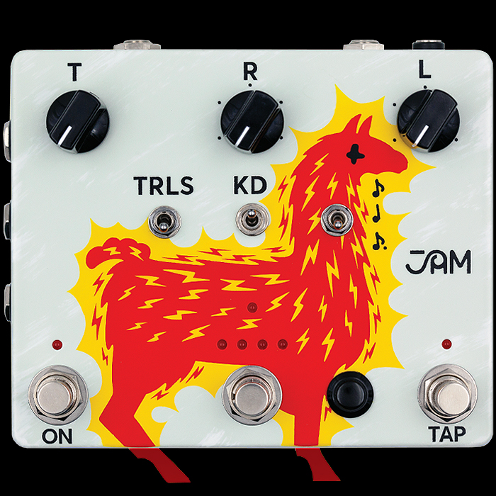 JAM Pedals deliver their most feature-rich Analog Echo Machine to-date - the Delay Llama Extreme