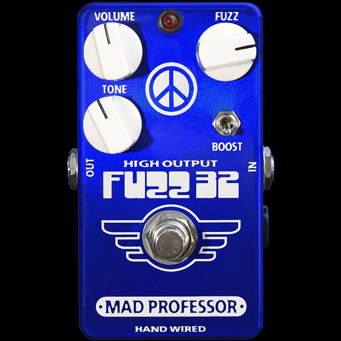 Mad Professor Releases Limited Edition Hand-Wired Germanium FUZZ32 with Modern Circuitry and Switchable Boost