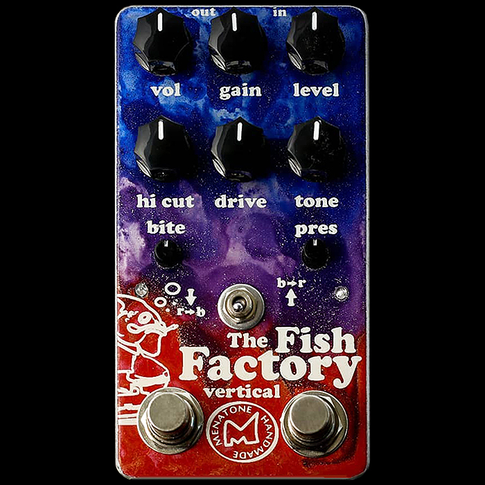 Menatone Unleashes the Vertical Fish Factory combination Red Snapper and Blue Collar Overdrive