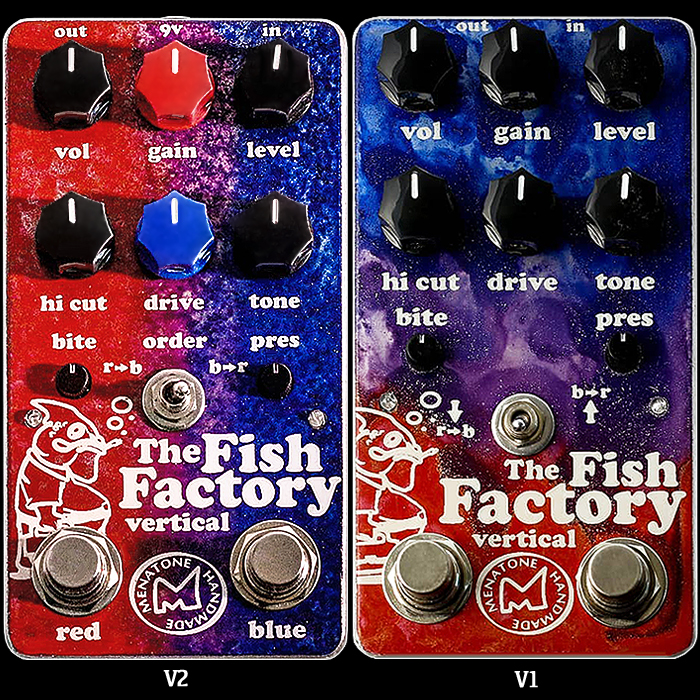 Brian Menatone Refines his new Vertical Fish Factory Dual Overdrive with Improved Ergonomics