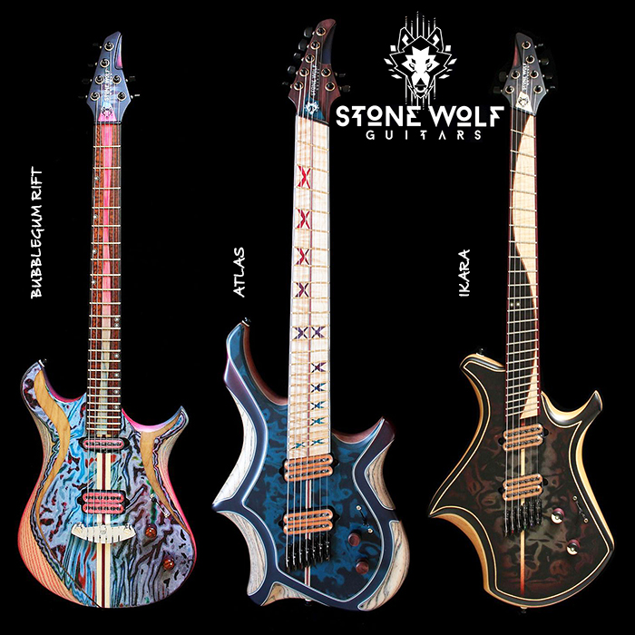 Mike Payne - Stone Wolf Guitars