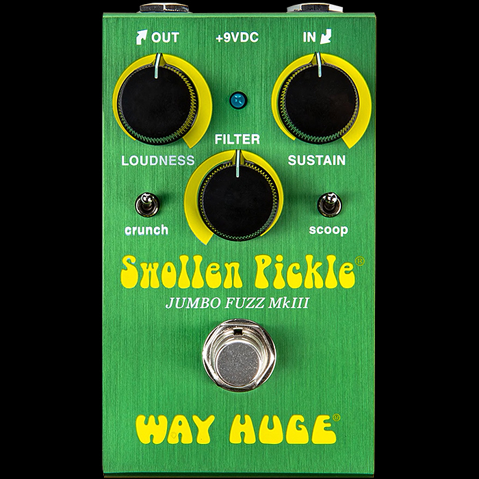 Way Huge Finally Release MKIII Smalls Edition of the Swollen Pickle Jumbo Fuzz