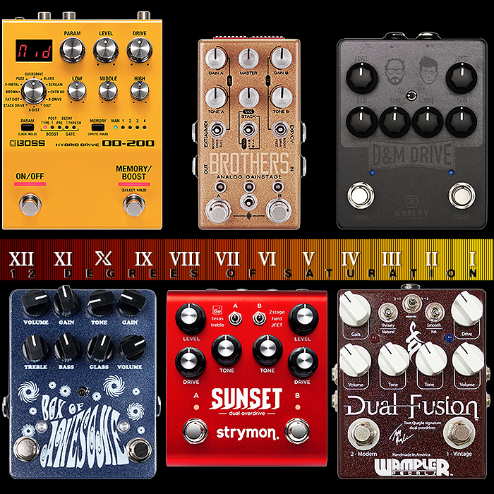 6 of the Best All-Rounder Relatively Compact Dual-Channel / Multi-Voice / Multi-Drive Pedals
