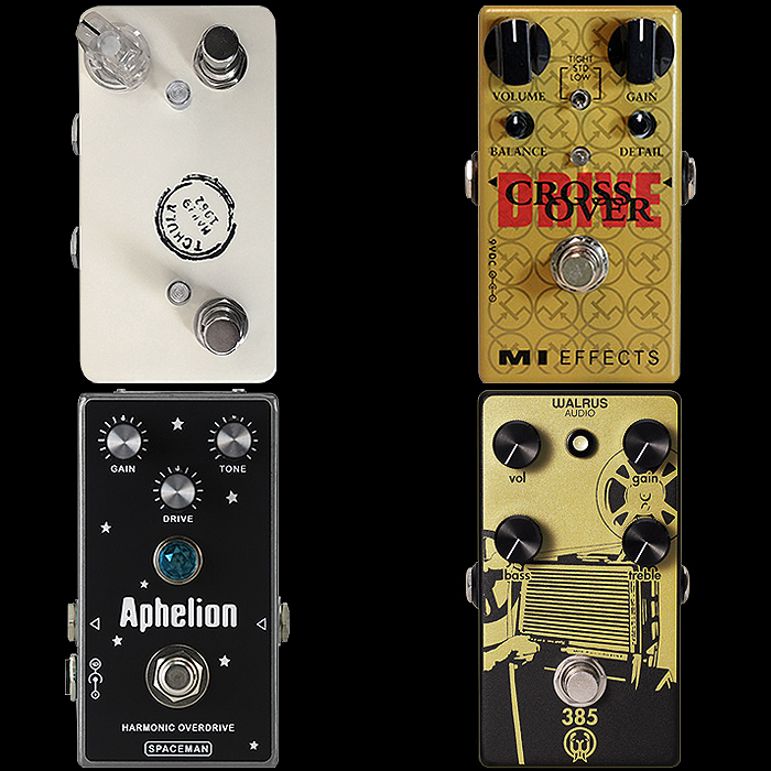 4 More Notable Dynamic Compact Overdrive Pedals