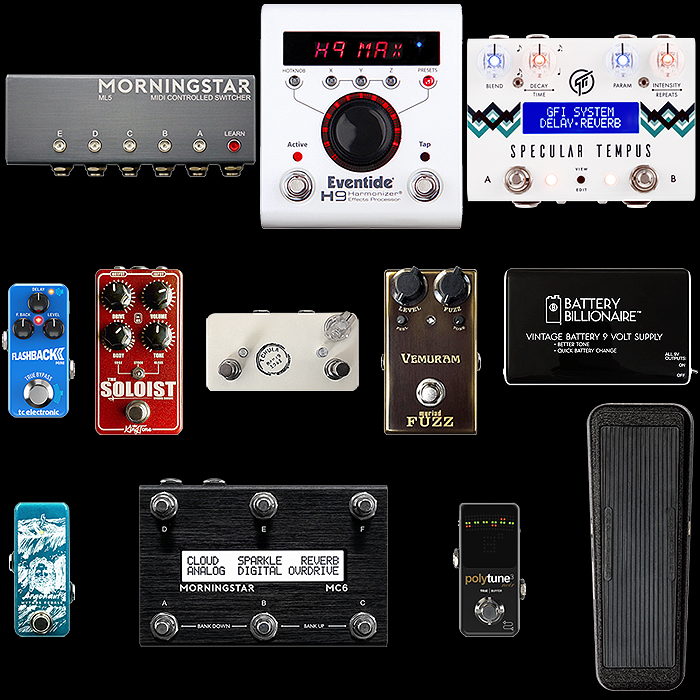 Josh Smith's Pedalboard Dynamics and Essential Tone Components