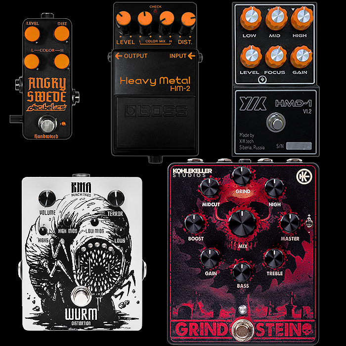 Which is the Right HM-2 Style Pedal for You - Choice Alternatives at Different Sizes