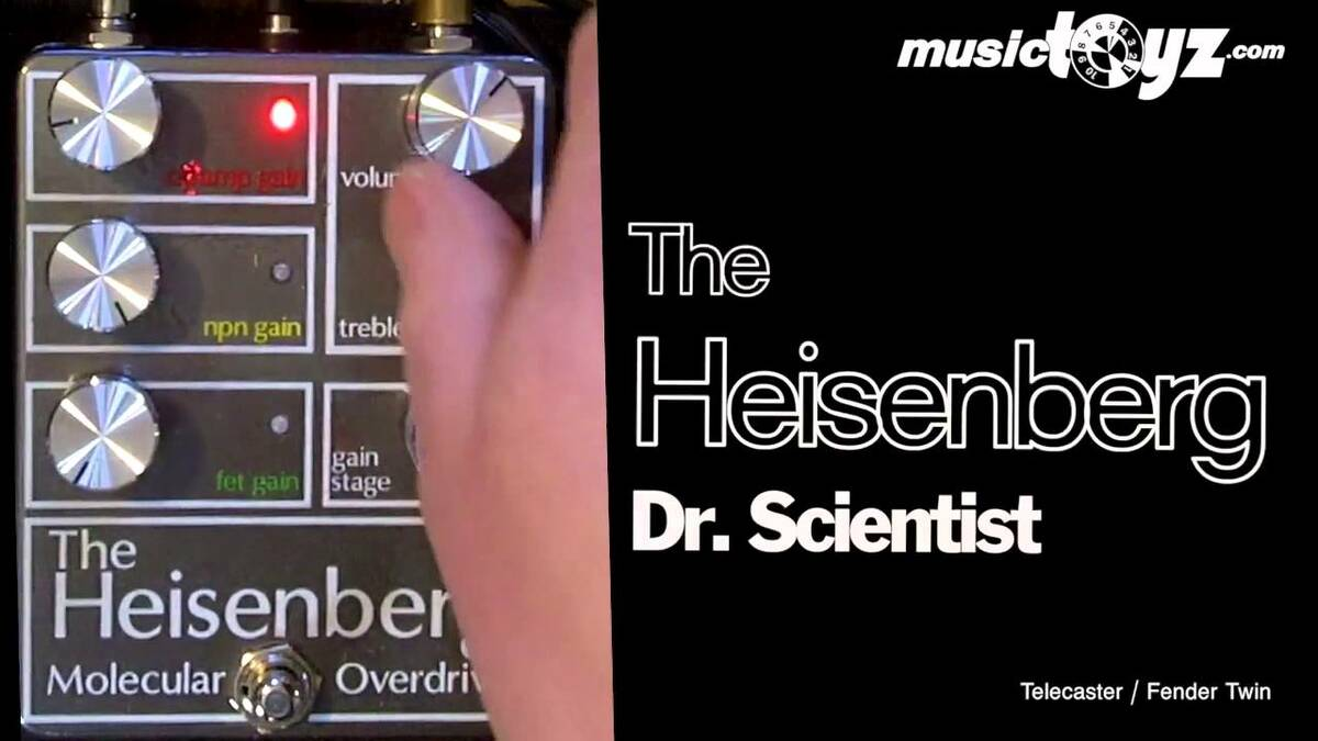 The Heisenberg Molecular Overdrive - discontinued - $400 when new