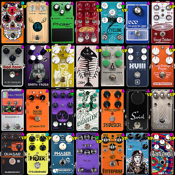 28 of the Best Compact Enclosure Phaser Pedals - 2020 Ultimate Selection